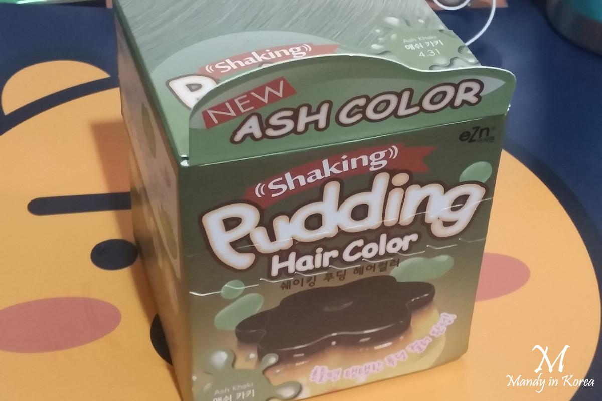 韓國大熱布丁染髮Ash Khaki霧面灰綠色真那麼神嗎✦用後報告~